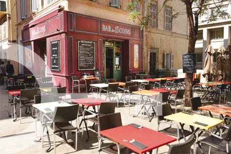 Bar des 13 coins à Marseille