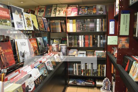 La Bédérie - librairie bandes dessinneés