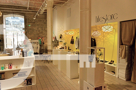 Boutique concept store aux Docks Marseille LIFESTORE