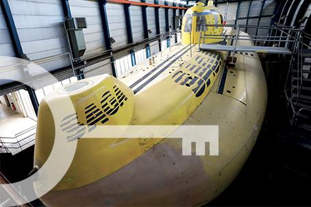 Compagnons du Saga le sous-marin civil à Marseille
