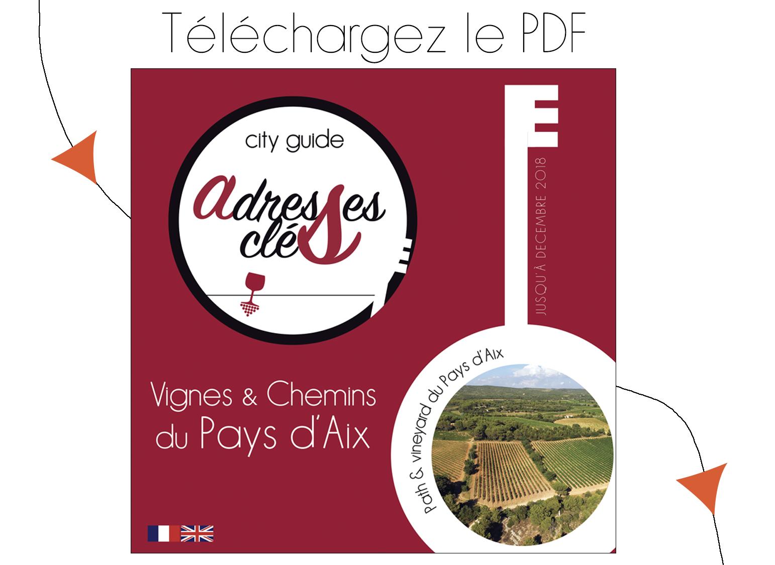 City Guide Adresses Clés Vignes et Chemins du Pays d'Aix