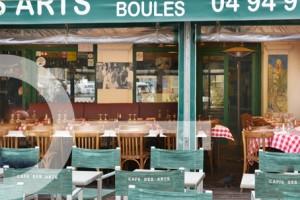 Café des Arts brasserie Saint Tropez