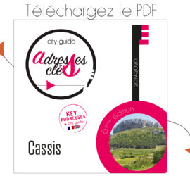 City Guide Adresses Clés de Cassis 2019-2020