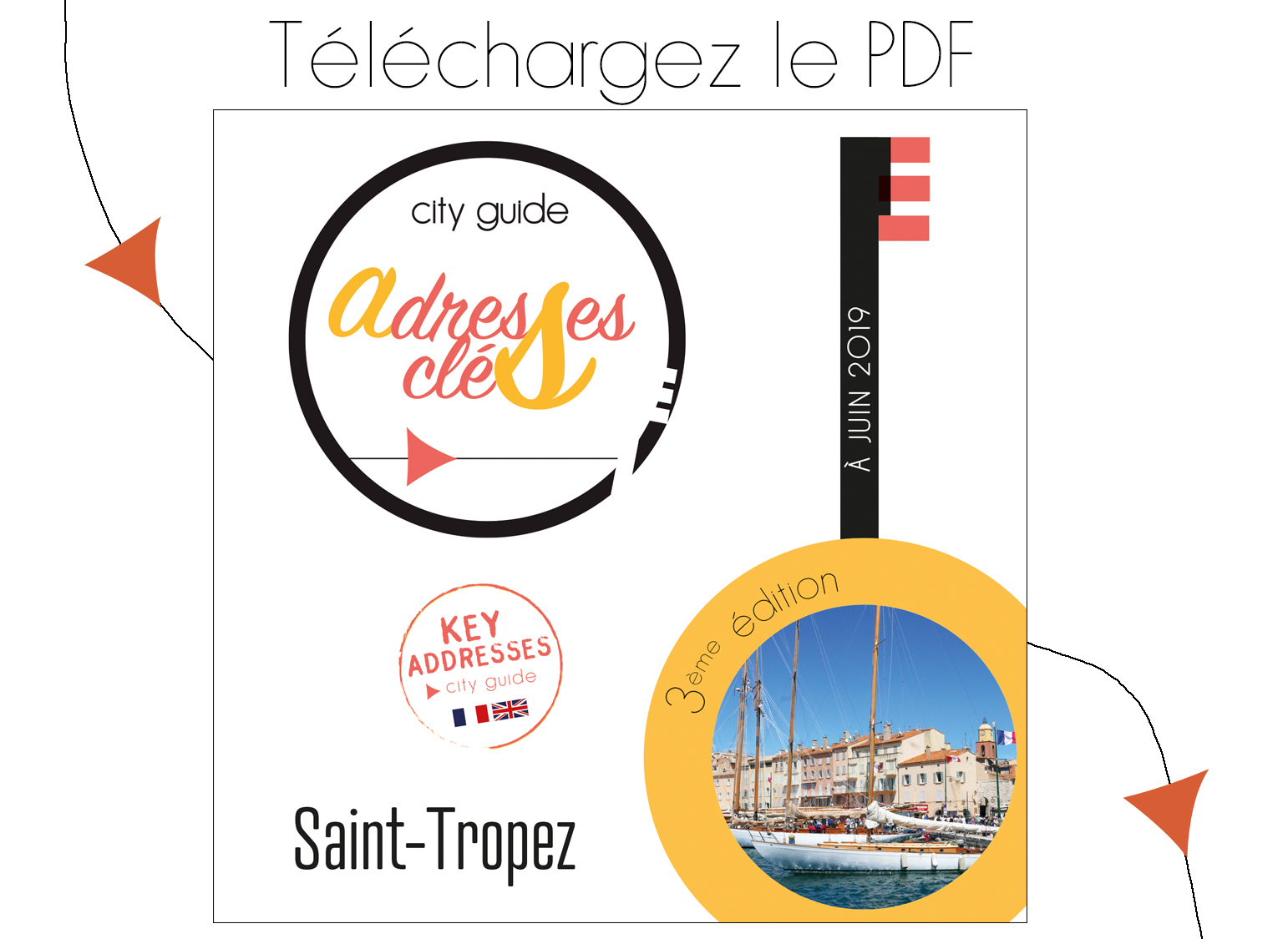 City guide Adresses Clés de Saint-Tropez 2018-2019